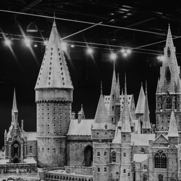 Schloss Hogwarts aus Harry Potter